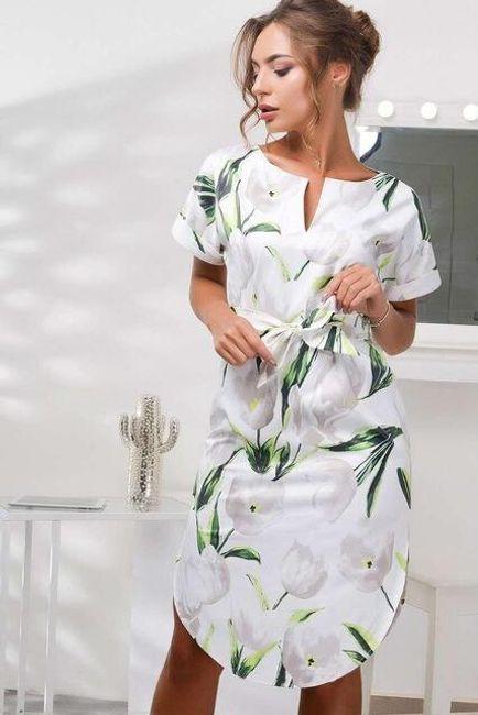Dámské letní šaty Mila - 2-M 1