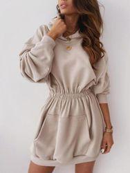 Bluzowa sukienka Francis