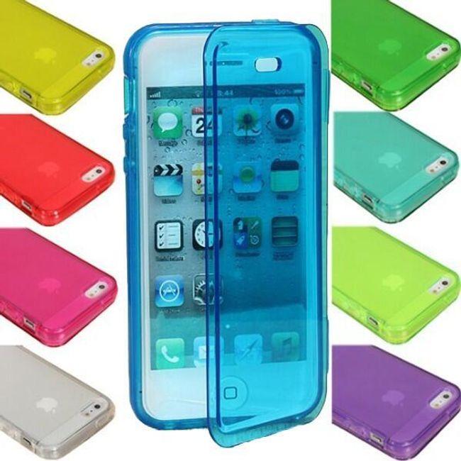 Oboustranný kryt na iPhone 5 - v 9 barvách 1