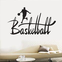 Samolepka na zeď - motiv basketbal