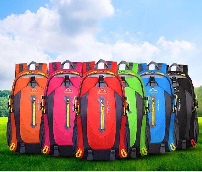 Cestovní batoh 20-35L - mix barev 1