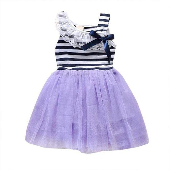 Společenské šaty pro malinké princezny - 1, 2 roky 1