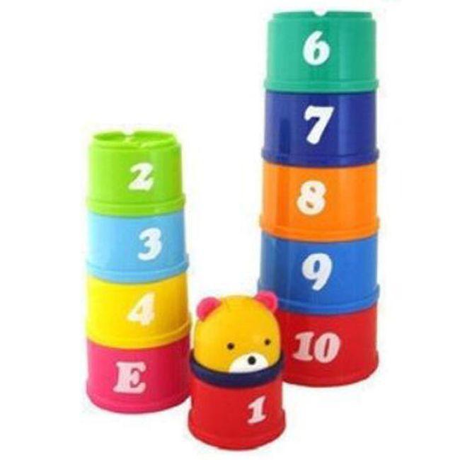 Barevná věž pro děti - stavebnice 1