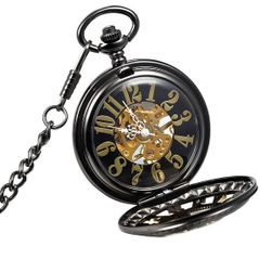 Kieszonkowy zegarek z wyrazistymi cyframi