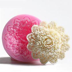 Silikonska formica - 3D cvet