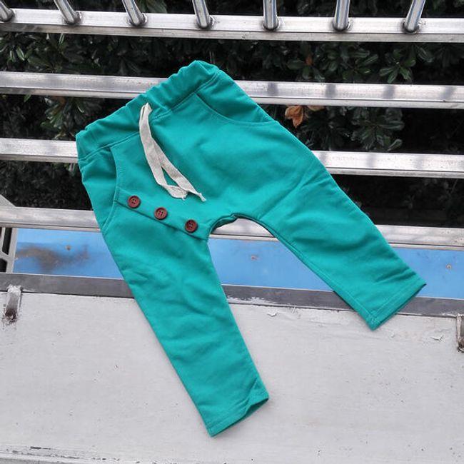 Klučičí harémové kalhoty - 10 barev 1