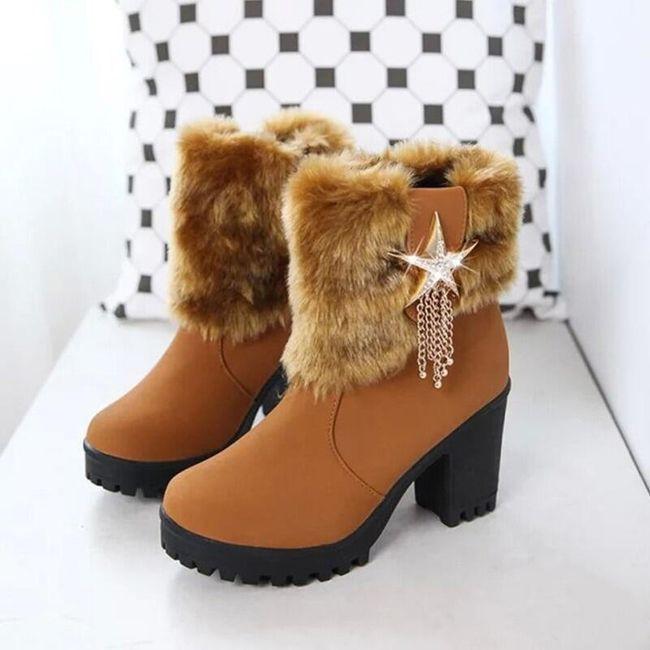 Ženska zimska obuća Jamira 1
