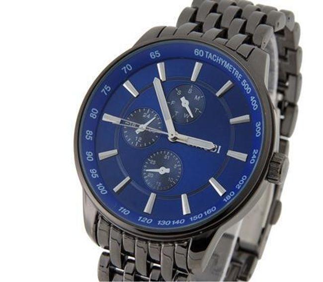 Pánské hodinky Sinobi - modrý ciferník 1