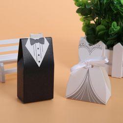 100 de cutii pentru prăjituri de nuntă
