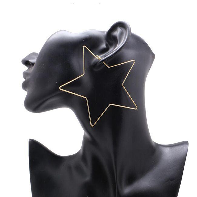Náušnice - obří hvězdy 1