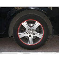 Benzi reflectorizante pentru roți auto sau motociclete - 7 culori
