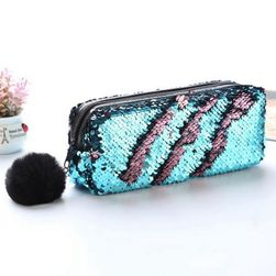 Козметична чанта с пайети - 4 цвята