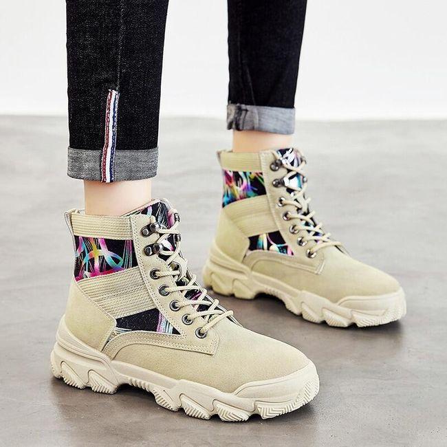 Damskie buty do kostki TF9304 1