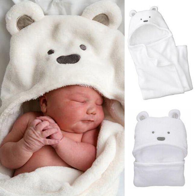 Měkká fleecová deka pro děti s motivem ledního medvěda 1
