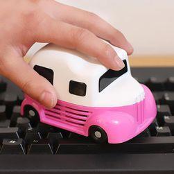 Miniaturowy odkurzacz do klawiatury w kształcie samochodu