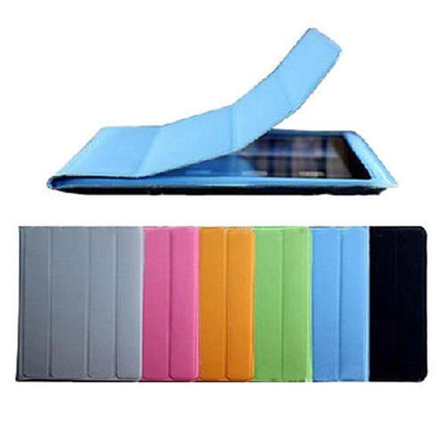 Magnetické chytré pouzdro pro iPad 2 - modré ultratenké 1