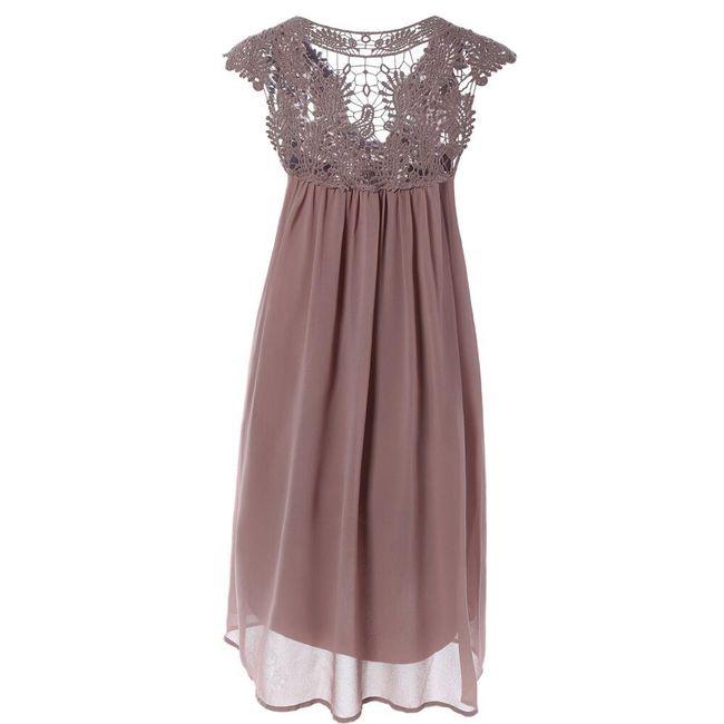 Sirena haljina sa čipkom 1