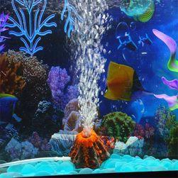 Пузырящийся вулкан ля аквариума
