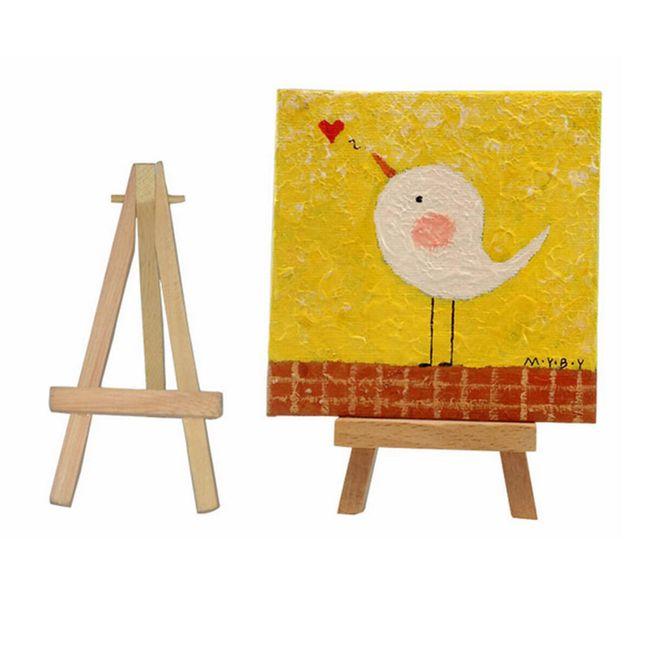 Mini festőállvány képek számára 1