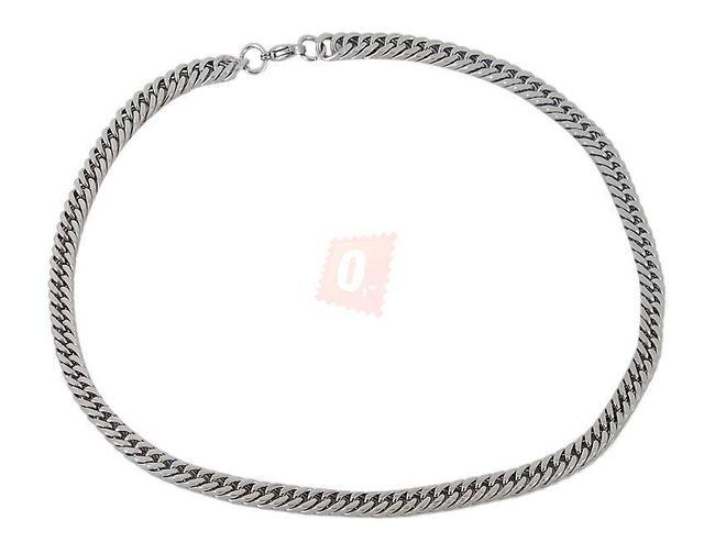 Náhrdelník, 55cm - stříbrná barva 1