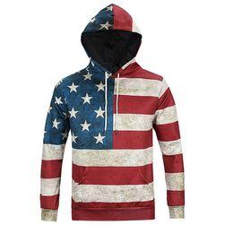 Férfi pulóver - amerikai zászló