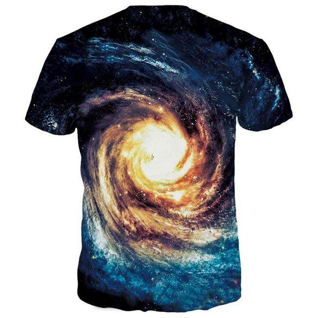 Triko s potiskem galaxie 1