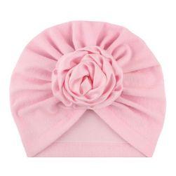 Kapa za deklice B07936 Růžová cotton mixed