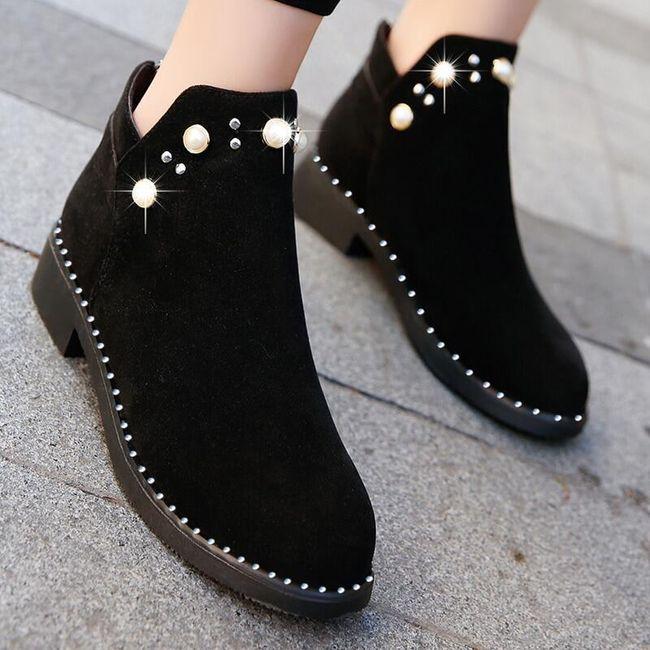 Damskie buty do kostki TF9286 1