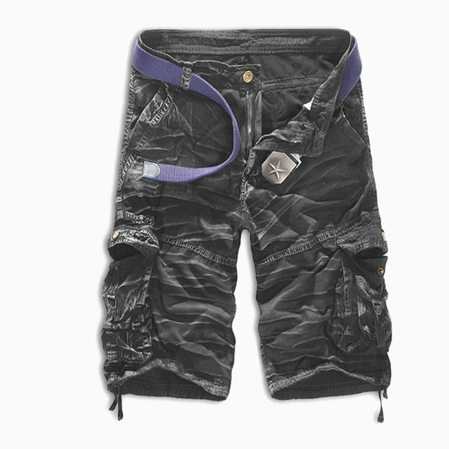 Moške kratke hlače z žepi - 8 variant 1