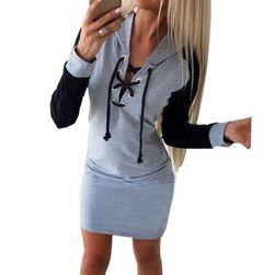 Ženski pulover-obleka Lopine size 5