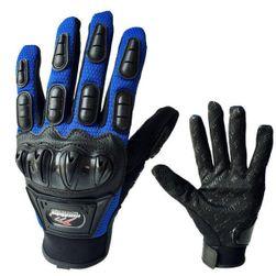 Vyztužené rukavice pro motorkáře