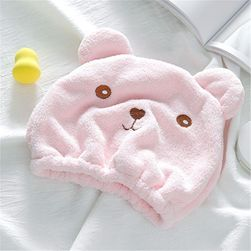 Hair wrapped towel  G5