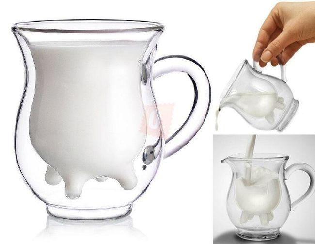 Oryginalny dzbanek na mleko w postaci krowiego wymiona 1