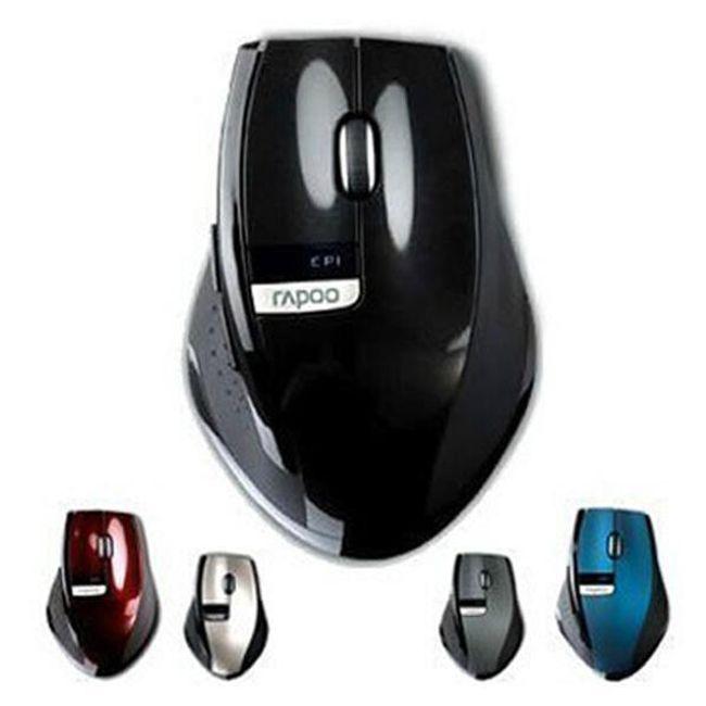 Bezdrátová optická myš v několika barvách 1