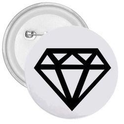 Przypinka Diament