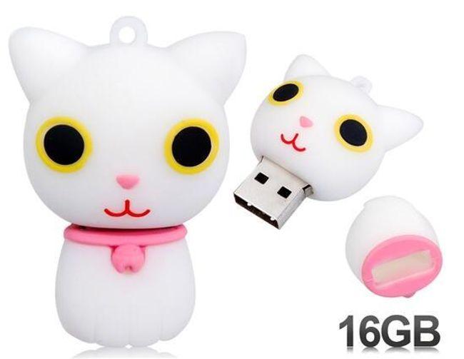 USB 16 GB - kočička 1