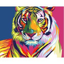 Tigar - slikanje po brojevima