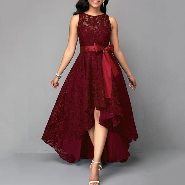 Damska sukienka wizytowa Gallia 1