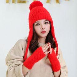 Ženska kapa sa rukavicama Anabelle