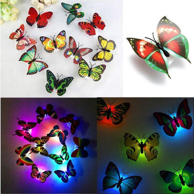 LED лампа- Бабочка 1
