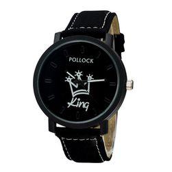 Analogové hodinky KING a QUEEN - různé druhy