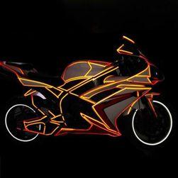 Светоотражающие наклейки на автомобиль или велосипед- 8 м.