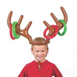 Felfújható rénszarvas agancs - játék gyerekeknek