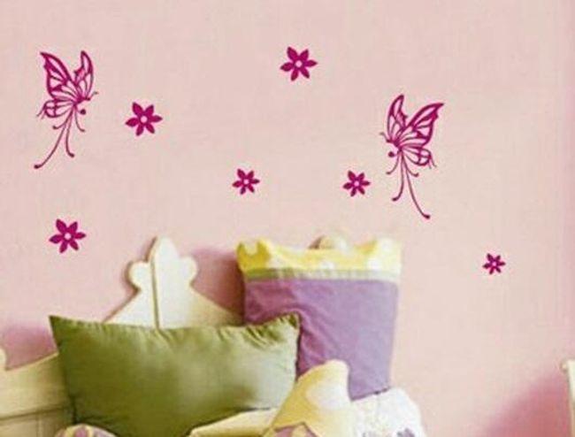 Samolepka na zeď - motýlci 1