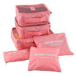 Ochronne opakowania na ubrania do walizki - 8 kolorów
