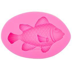 Силиконова форма - 3D риба