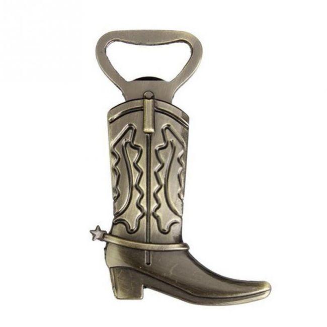 Otvírák na láhev - kovbojská bota 1