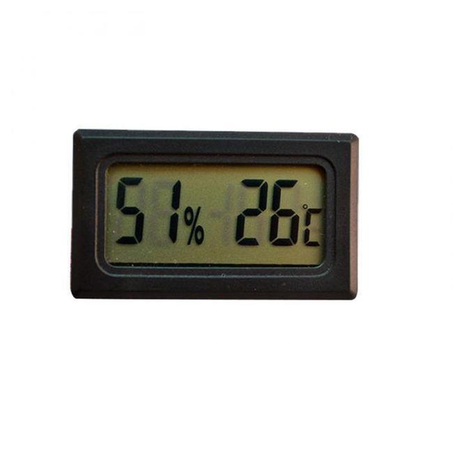 Mini termometr i wilgotnościomierz z LCD wyświetlaczem 1