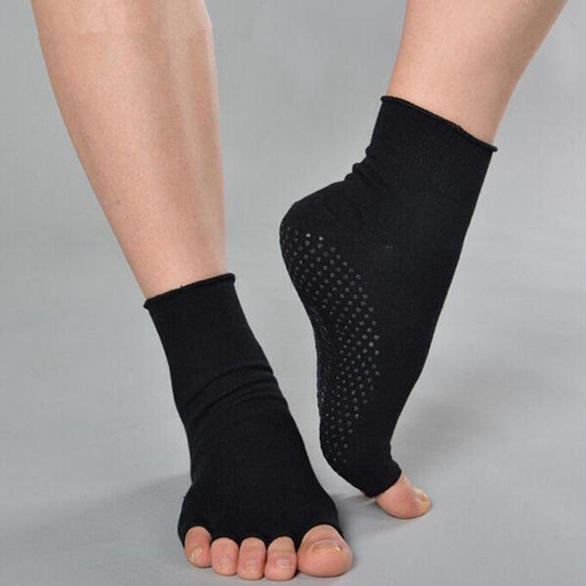 Pamut zokni jóga és pilates-re 1