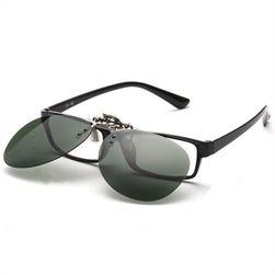 Polarizační klip na dioptrické brýle - Pilotky - 7 variant